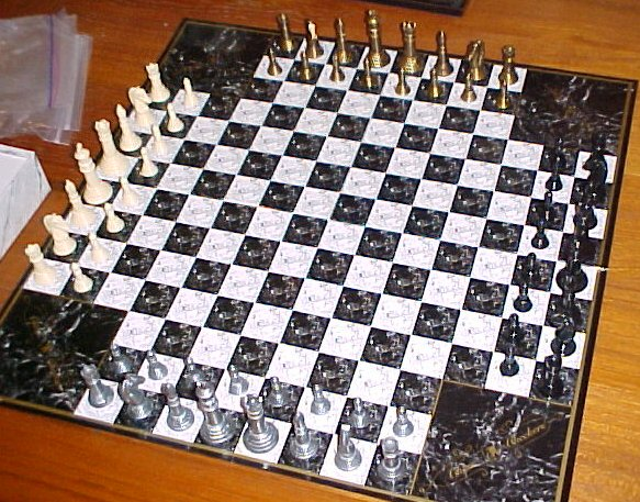 Chess Newbie Here Are 3 Or 4 Player Chess Boards
